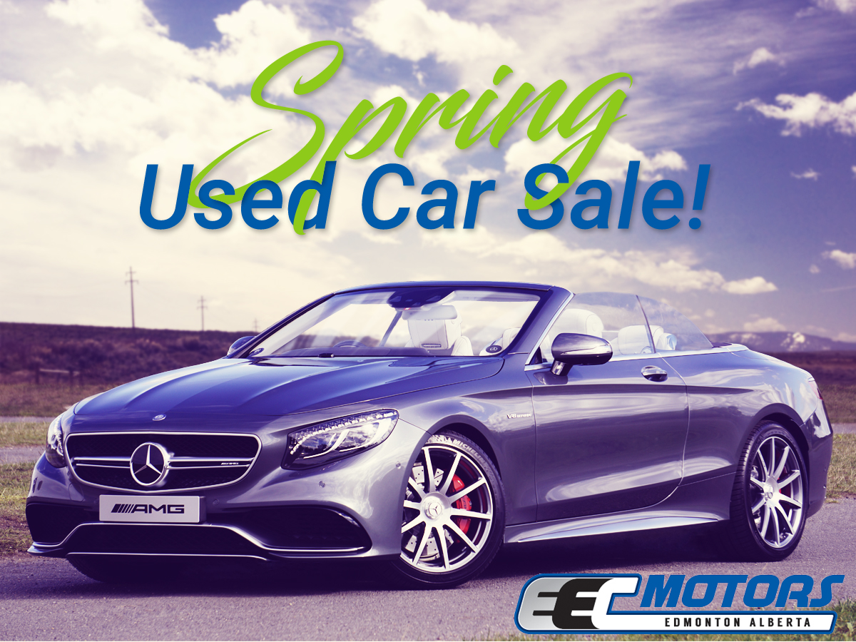 Save at Our Spring Used Car Sale! | Articles & News | EEC Motors