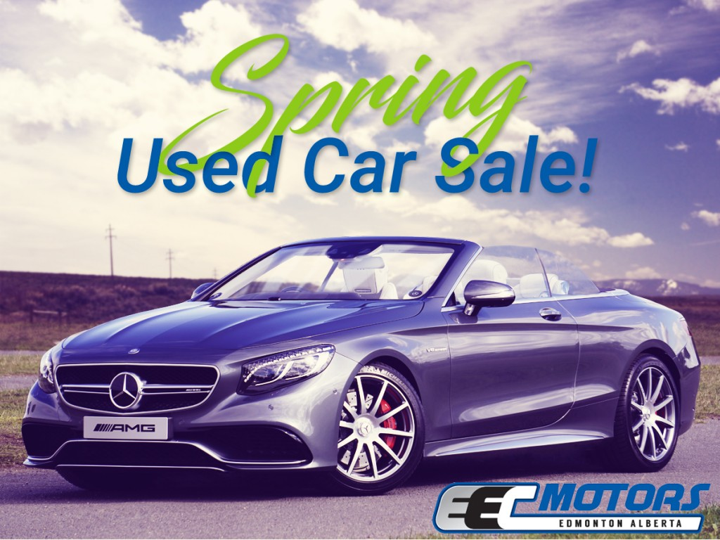 Save at Our Spring Used Car Sale!