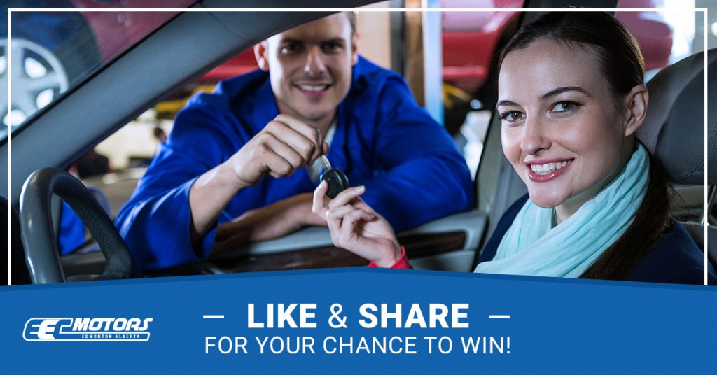 LIKE and SHARE for your chance to WIN a $100 EEC Motors Coupon