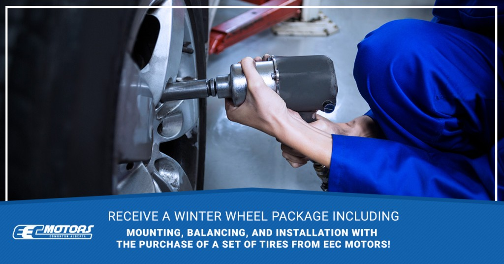 Buy a Winter Wheel Package By Jan. 31st & Receive FREE Mounting, Balancing, & Installation